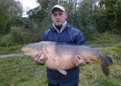 Krzysztof Pasiecznik - 27,30kg  TB Perfection pop up krewetka tygrysia 16 mm, zanęta Pellet 8mm  czarny halibut 5kg