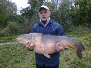Krzysztof Pasiecznik, 27,30kg TB Perfection Pop Up krewetka tygrysia