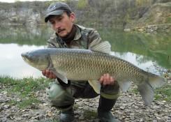 Grzegorz Stramowski, 8kg CF Krewetka Tygrysia + Pop Up Fish Blend Mix