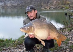 Grzegorz Stramowski, 13,5kg CF Ryba&Skorupiak + Pop up Fish Blend Mix