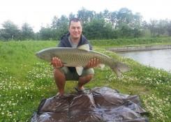 Bartosz Henczel, 12,8kg, Carp Food Doskonała Truskawka