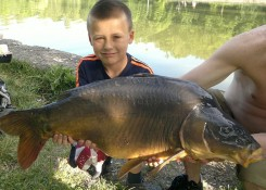 Dawid Sabiszewski, 18,4kg, Carp Food Doskonała Truskawka