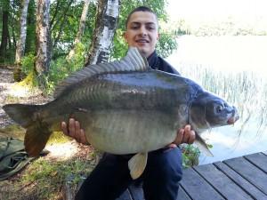 Karol Różagórski, 15,3kg, Carp Food Wanilia&Śmietanka+Sztuczna kukurydza Signal Clone
