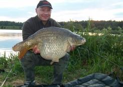 Marek Mocoń, 14,4kg, CF Perfection Hookers Czarny Halibut+Truskawka Plus