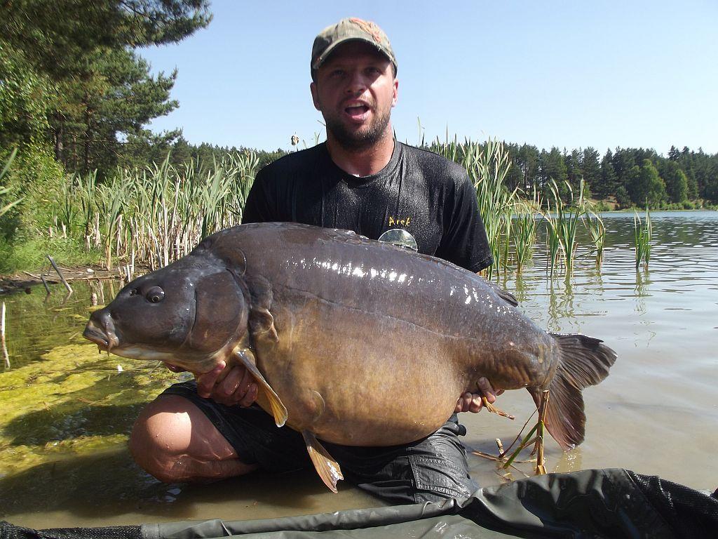 Arkadiusz Kaszycki, 30,4kg, CF Pop-Up Wątroba&Scopex + SuperFeed Kałamarnica&Pomarańcza