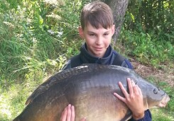 Szymon Hunek, 21,2 kg, Carp Food Boilies Doskonała Truskawka