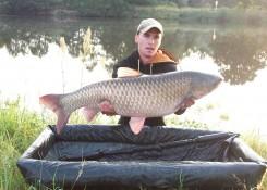 Wiktor Schreiber, 18,6kg, gotowana kukurydza zalana CF Atract Booster Wanilia&Śmietanka