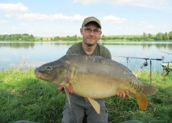Marcin Mrugała, 19kg, Carp Food Homar&Rak+Perfection Pop Up Krab&Banan
