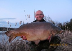Piotr Hibner, 19,1 kg, Carp Food Total Scopex