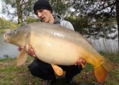 Sebastian Burakowski, 12,8 kg, Boosted Hookers Kremowy Banan + SF Pop Up Kałamarnica&Pomarańcza