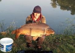 Damian Małys, 16,1kg, SF Diffusion Boilies Szalony Homar + GLM Muszla