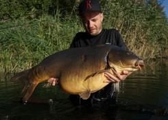 Jakub Saduś, 24,65kg, Kulki własnej produkcji zalane SF Speed Booster Szalony Homar